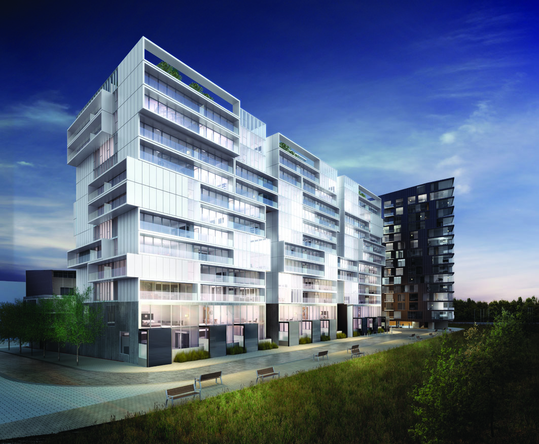 Toronto Downtown Don Valley Park River City Phase 2 condo